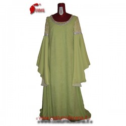 Arwen - Traje verde de ceremonia